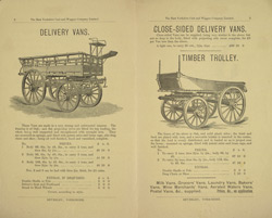 Advert for the East Yorkshire Cart & Wagon Company Ltd, reverse side